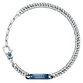 RELOJ MASERATI GIOIELLI MASERATI BR.IP BLUE W/NATURAL DIAMOND JM221ATY09