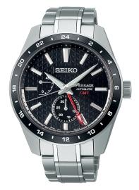 RELOJ SEIKO PRESAGE SHARP EDGED SERIES GMT NEGRO SPB221J1