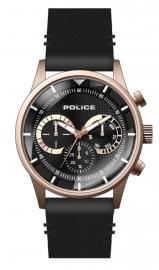 RELOJ POLICE DRIVER MULTI BL/RG DIAL / BLACK LEATHER PEWJF2110901