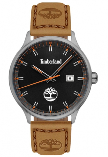 TIMBERLAND ALLENDALE 3H BLACK DIAL / TAN LEATHER TDWGB2102201