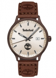 RELOJ TIMBERLAND ALLENDALE 3H GREY DIAL / BROWN LEATHER TDWGB2102203