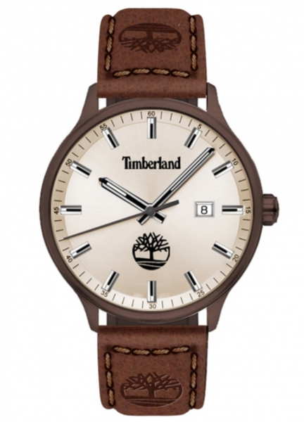 TIMBERLAND ALLENDALE 3H GREY DIAL / BROWN LEATHER TDWGB2102203