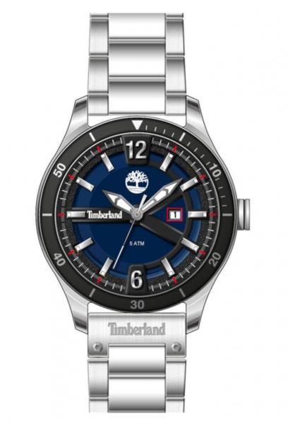 TIMBERLAND STRANTON 49,5MM BLUE DIAL / SS BRACELET TDWGH2100101