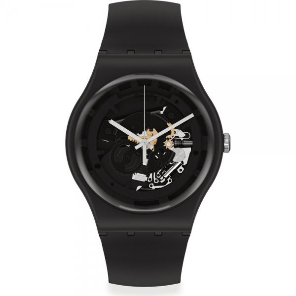 SWATCH SPOT TIME BLACK SO32B108