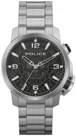 RELOJ POLICE FERNDALE 3H BLACK DIAL / SS BRAZ PEWJJ2110003