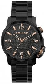 RELOJ POLICE FERNDALE 3H BLACK DIAL / BLACK BRAZ PEWJJ2110001