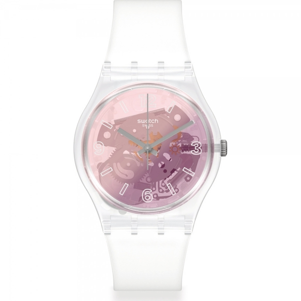 SWATCH PINK DISCO FEVER GE290