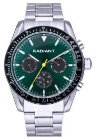 RELOJ RADIANT TIDEMARK 45MM GREEN DIAL IPSILVER BRAZ RA577703