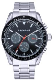RELOJ RADIANT TIDEMARK 45MM BLACK-GREY DIAL IPS BRAZ RA577705